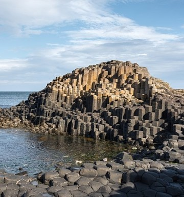 Giant's Causeway, the target for Paul H. Smith's controlled remote viewing session