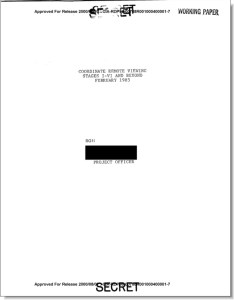 Tom McNear's 1985 controlled remote viewing manual