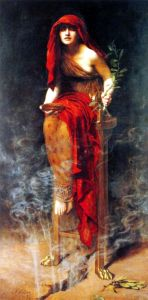The Oracle of Delphi--an early remote viewer?