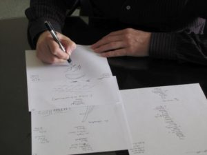 Sketching is a key aspect of Stage 3 in our Basic Controlled Remote Viewing Course