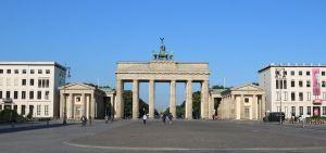 Surrounding setting of the Brandenburg Gate
