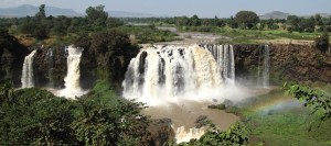 Blue Nile Falls overview