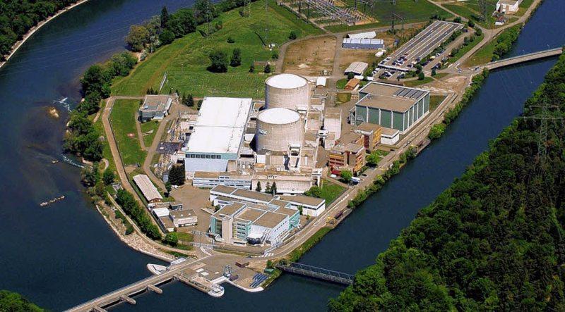 Target 394 us Beznau Nuclear Plant in Beznau, Canton Aargau, Switzerland