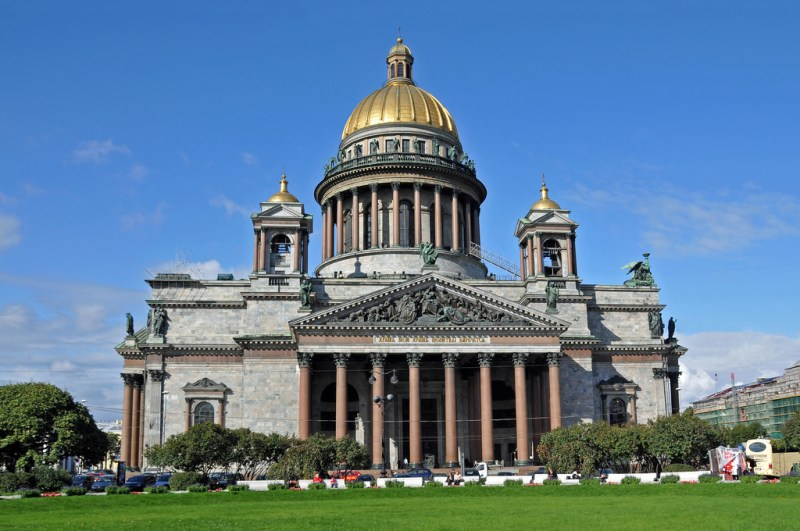 Target 411 is St. Issac's Cathedral, in St. Petersburg, Russia