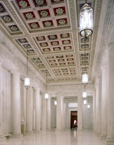 Another view of the Supreme Court interior