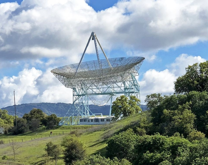 Remote viewing practice taraget 070 is the Stanford Dish radio telescope