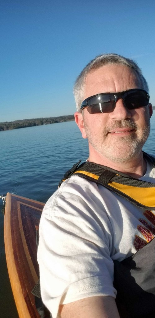 Brad Saum looking for bald eagles at Lake Guntersville state park