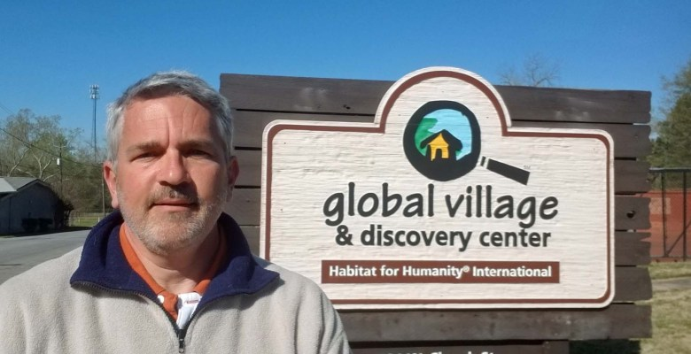 Brad Saum, an RV Care-A-Vanner volunteer with Habitat for Humanity.