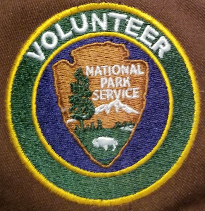 National Park volunteer patch