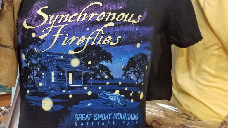 Shirts commemorating the synchronous fireflies