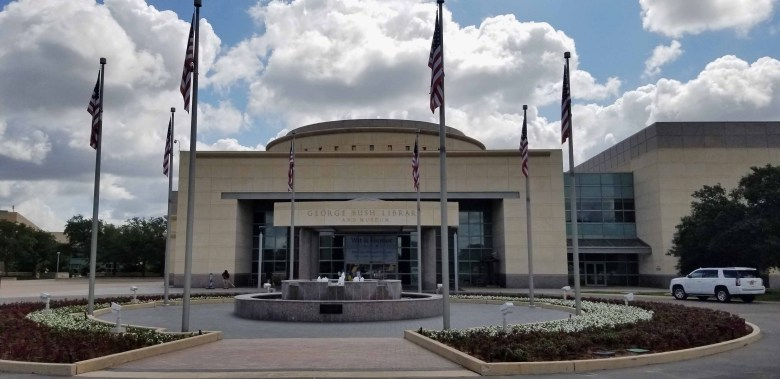 the George H.W. Bush Presidential Library and Museum in College Station, Texas