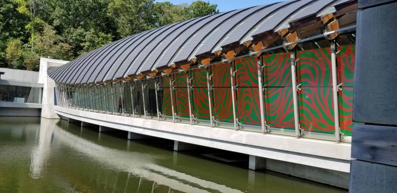 architecture of the Crystal Bridges Museum of American Art
