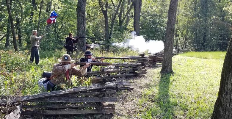 Battle of Pea Ridge, Civil War 1868