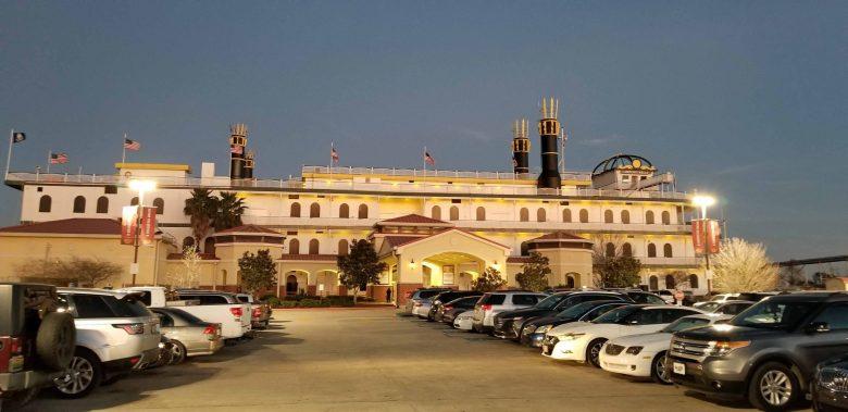 Amelia Belle Casino buffet with coastal Cajun cuisine.