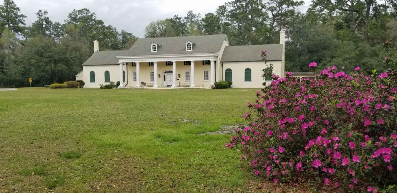The main museum building at Stephen Foster State Park.