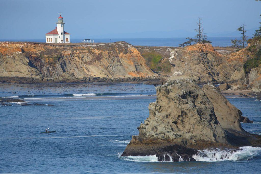 Cape Arago Light House 2000-cm