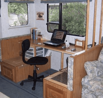 Small Camper Remodel Space Saving