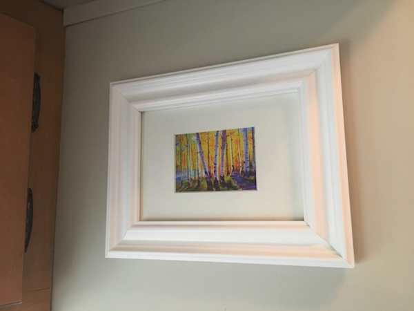 Picture hung on #RV wall with acrylic mounting tape