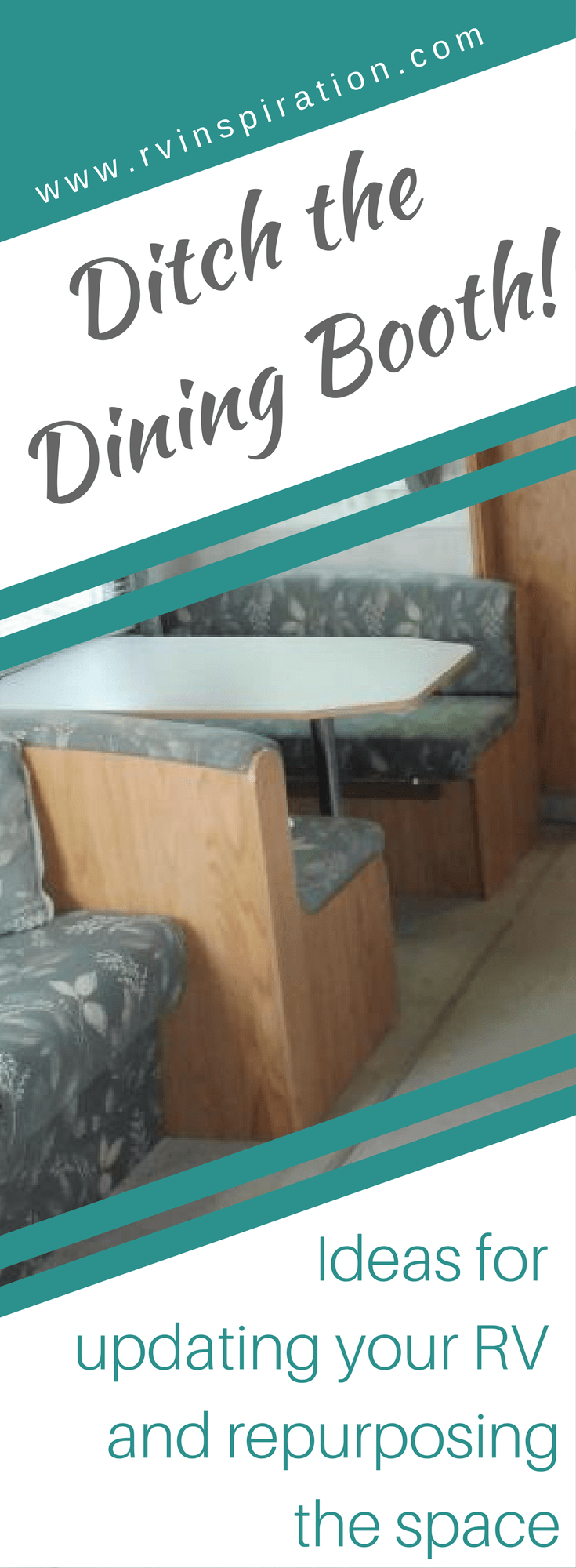 RV Owners Who Replaced Their Dining Booth | RV Inspiration