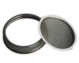 mesh strainer lid