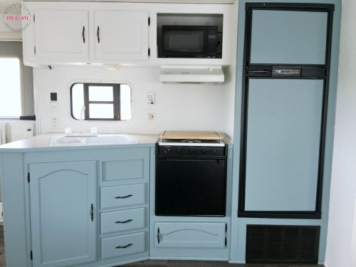 Rv Owners Who Painted Their Cabinets Rv Inspiration