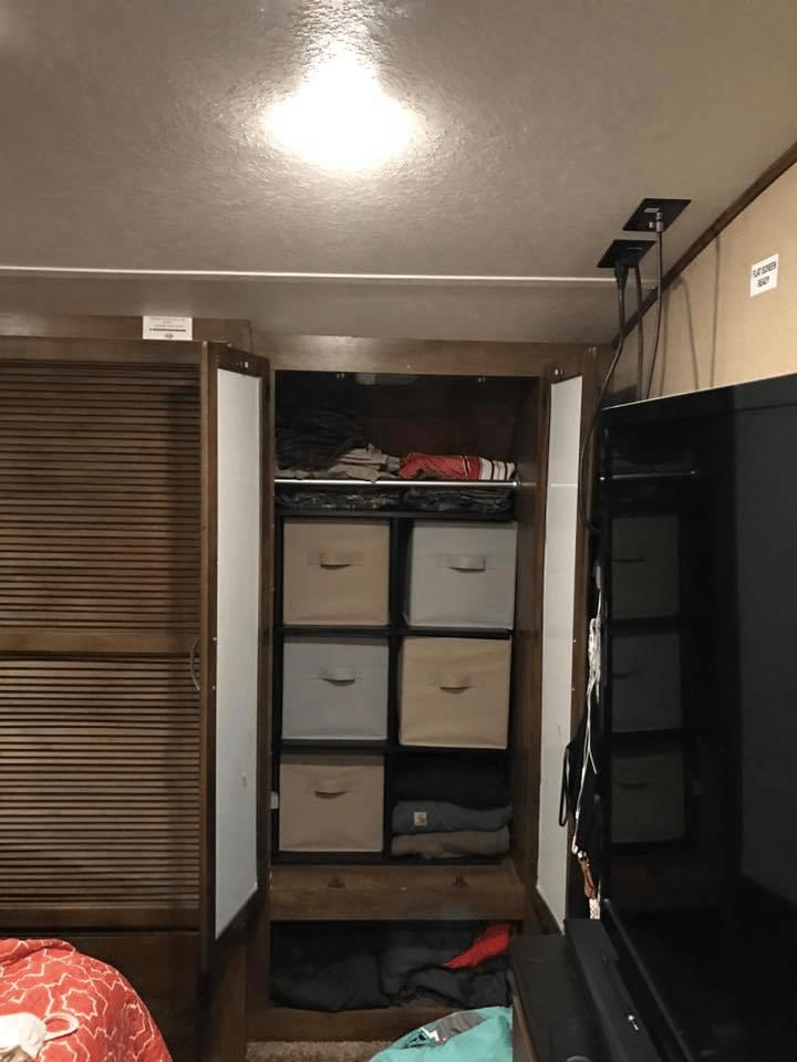 Rv Organization Accessories Best 60 Clothes Storage Closet Organization Ideas RV Inspiration