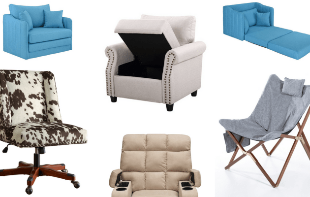 Best chairs for motorhomes, campers, and travel trailers | replace RV furniture makeover