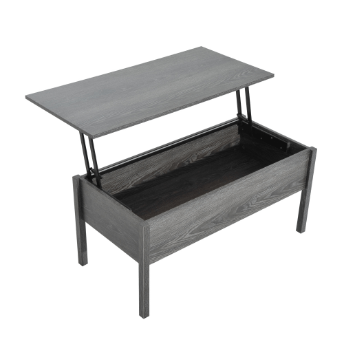 Lift coffee table for motorhomes, campers, and travel trailers | RV furniture