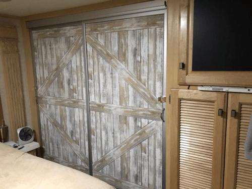Barn Wood Curtain Valance
