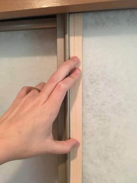 Measuring the lengths for the wood veneer