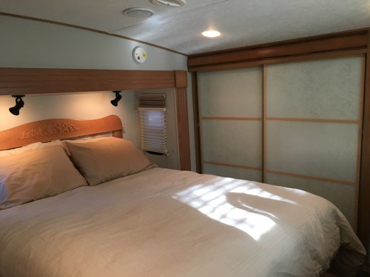 #mirrorcloset #makeover in our #RV bedroom