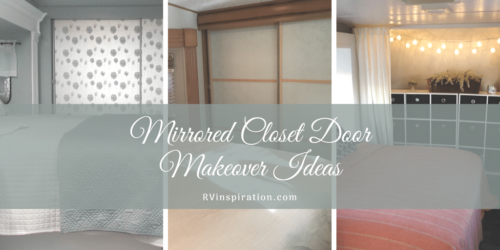 12 Mirror Closet Sliding Door Makeover Ideas | RV Inspiration