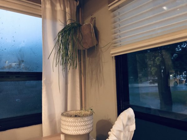 Prevent heat loss an condensation on RV windows with DIY plexiglass storm windows.