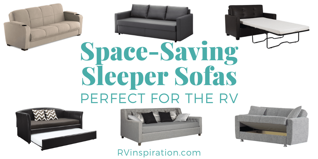 Magnificent 11 Space Saving Sleeper Sofas Furniture For Rvs Rv Spiritservingveterans Wood Chair Design Ideas Spiritservingveteransorg