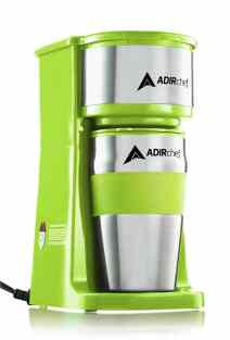 Single serving coffee maker for motorhomes and campers
