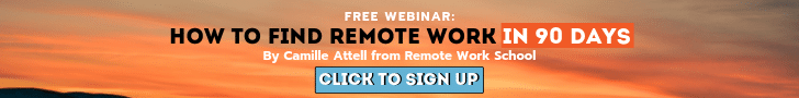 Remote Work 101 Small Banner Ad