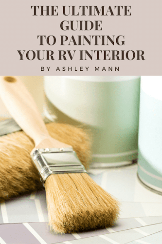 Which is the best paint for RV cabinets? Find out in The Ultimate Guide to Painting Your RV Interior.