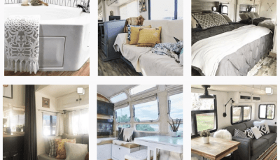Looking for interior ideas for a motorhome makeover? Planning a travel trailer remodel or renovation? Or maybe you're just dreaming? These Instagram feeds are sure to inspire you!