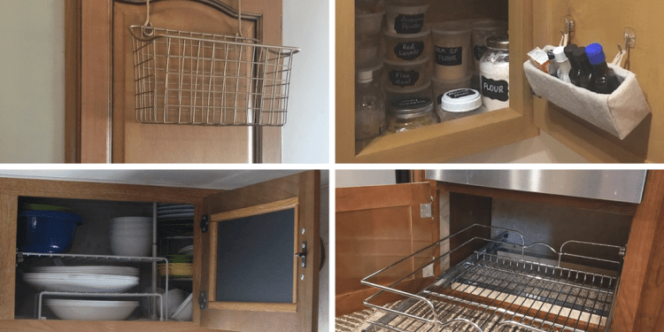 7 Organization Hacks for RV Kitchen Cabinets | RV Inspiration