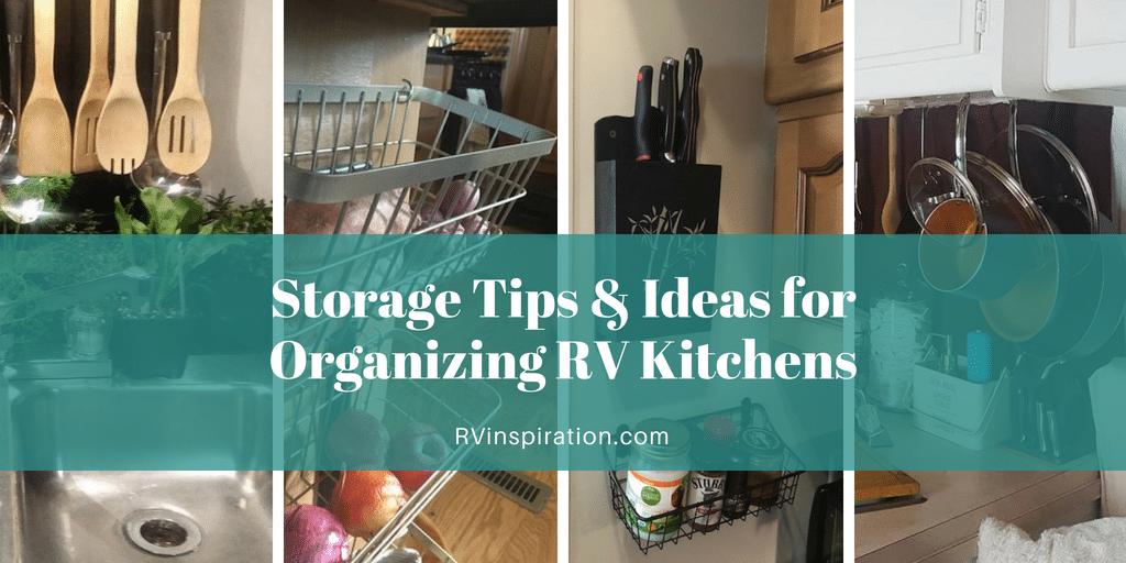 25 Storage Tips, Ideas, & Hacks for Organizing Camper ...