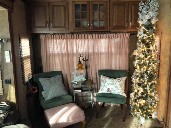 Pencil tree in RV by Tina Poe-Romine