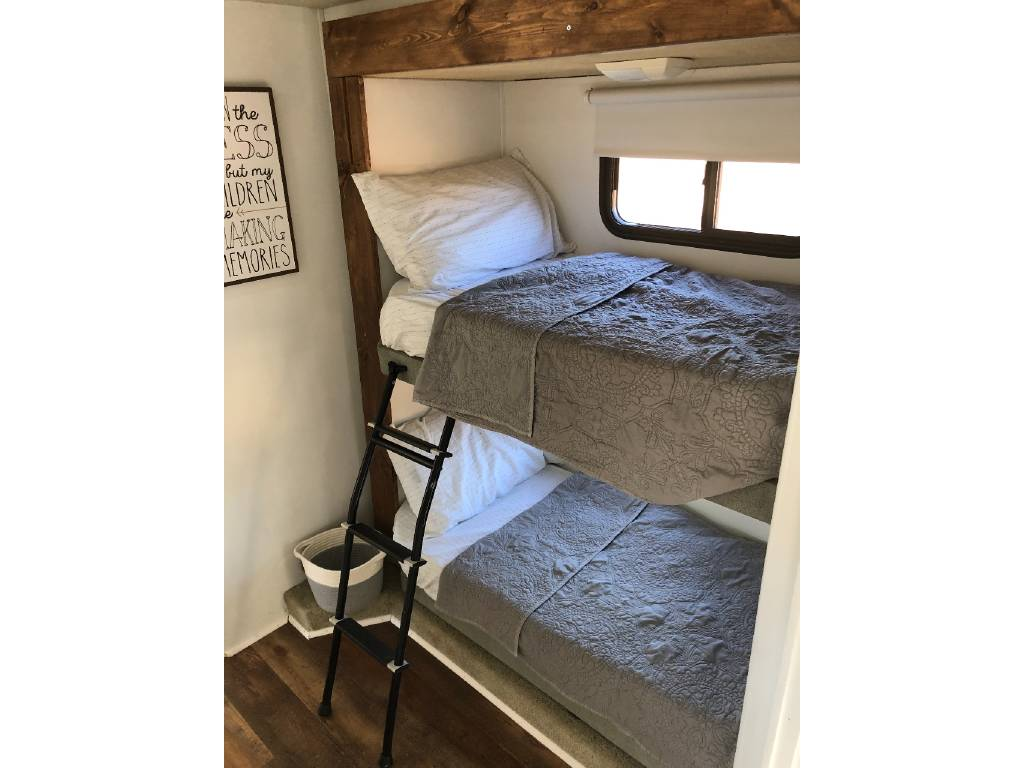 Bunkhouse renovation in motorhome