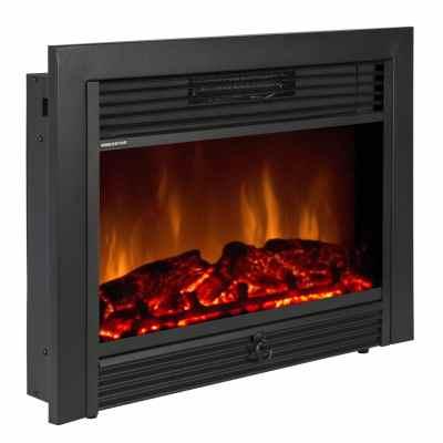 RV fireplace heater insert style