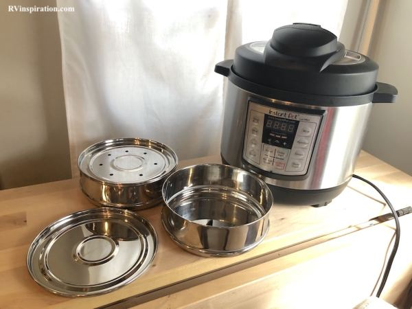 My Instant pot with accessories