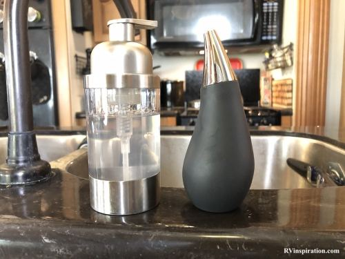Dish soap dispensers from my RV kitchen