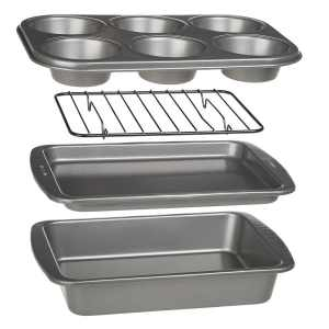Bakeware sized perfectly for an RV kitchen