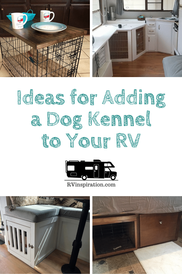 Swell Ideas For Adding A Dog Crate Or Kennel To An Rv Rv Inspiration Uwap Interior Chair Design Uwaporg