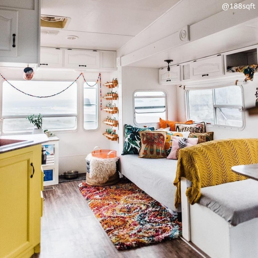 188sqft renovated fifth wheel RV