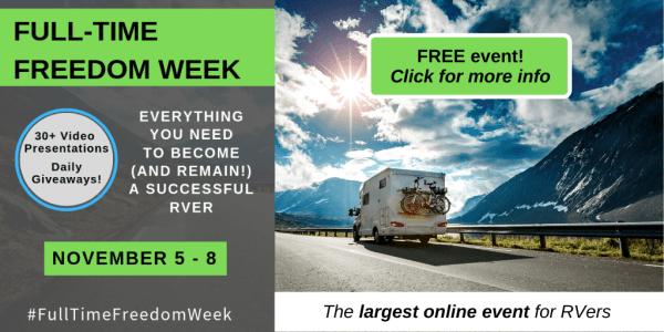 Full Time Freedom Week ad