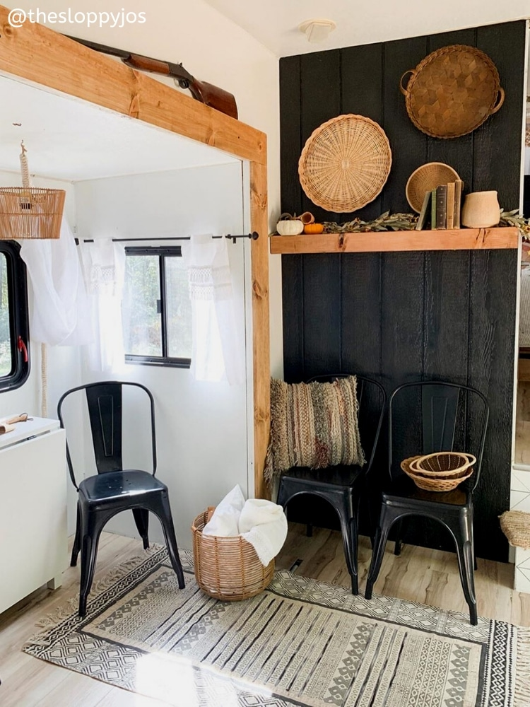 The Sloppy Jos RV Drifters Farmhouse Rustic RV